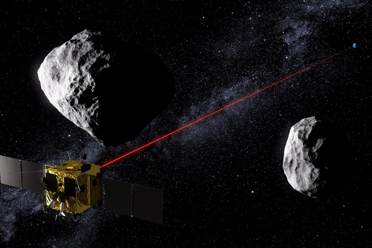 ESA's Asteroid Impact Mission concept