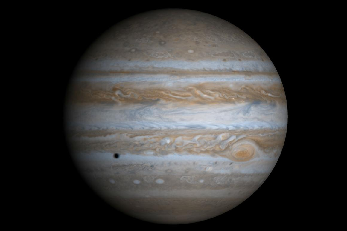 Jupiter's Great Red Spot has been a source of inspiration and curiosity for generations of astronomers (Image: NASA/JPL/University of Arizona)