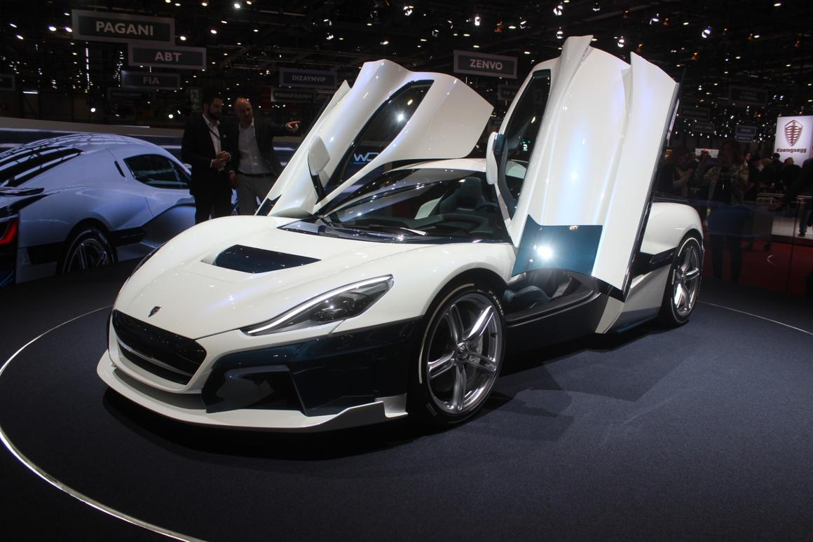 Rimac's C_Two introduces a new category of electric lunacy to the hypercar class with nearly 2,000 horsepower