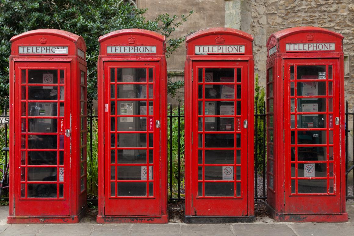 Old British phone boxes like these could find new life as work pods