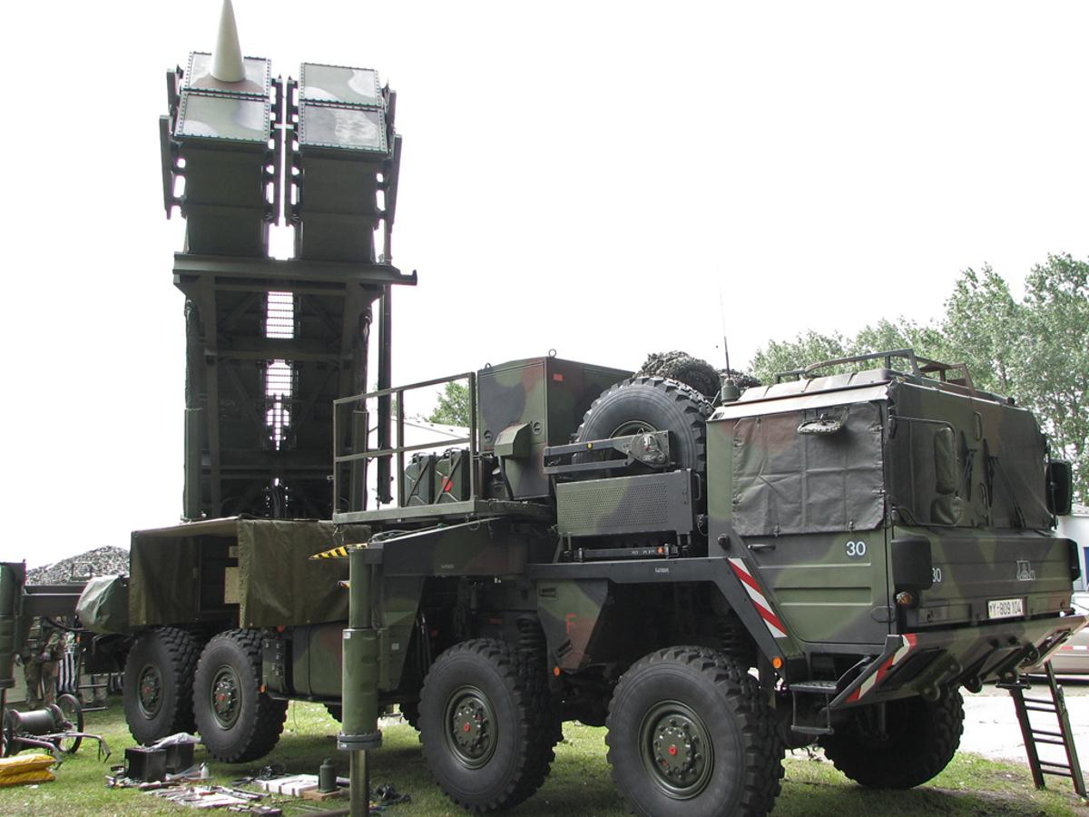 A Patriot Missile system (Image: Darkone via Wikipedia Commons)