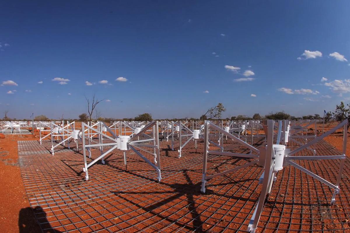 The newly inaugurated Murchison Widefield Array (MWA) telescope will act as an early warning system for solar flares