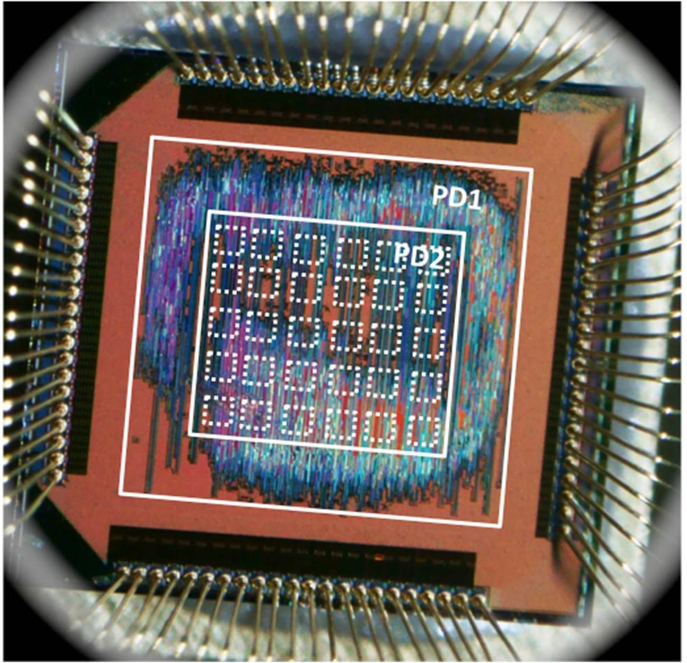 """A prototype """"inexact"""" computer chip that is around 15 times more efficient than current microchips (Avinash Lingamneni/Rice University/CSEM)"""