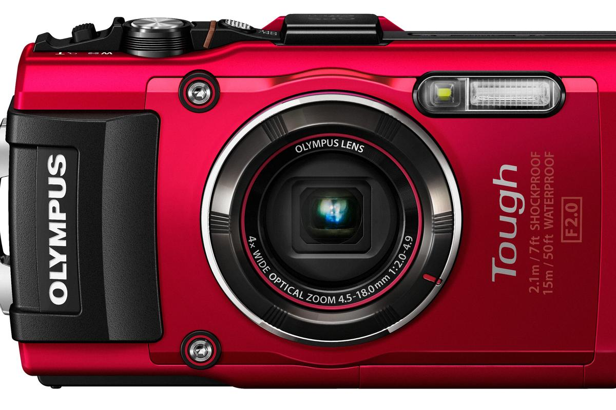 Olympus Stylus Tough TG-4 is a rugged compact camera that can shoot RAW files