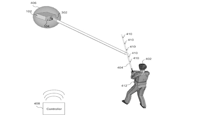 Disney has been awarded a patent for a system which allows visitors to its theme parks to wield a prop version of an iconic lightsaber in a battle game