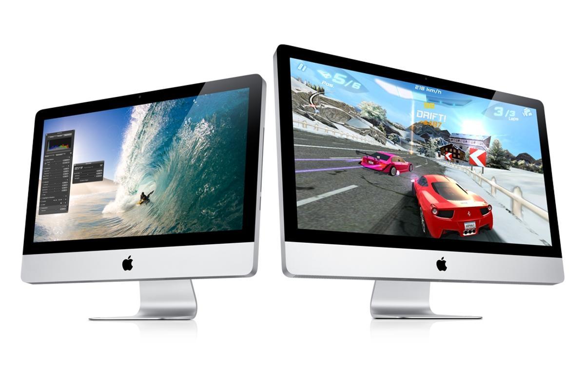 The new iMacs