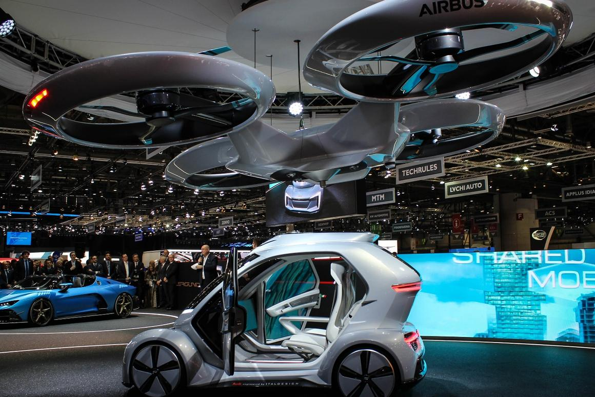 Airbus and Italdesignsharethebelief that this kind of system could actually take flight within seven to 10 years
