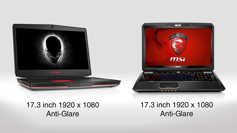 Msi Gaming Laptop Vs Alienware