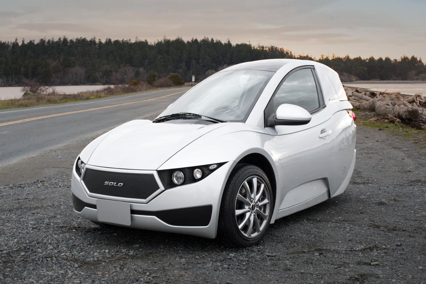 First production Solo three-wheeler EV rolls off the