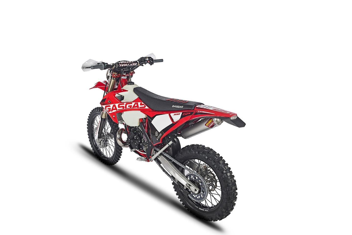 Gas Gas Enduro GP: enough extra parts and bling to bring it up to factory race spec