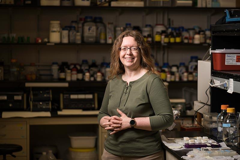 Lead researcher Anne Meyer