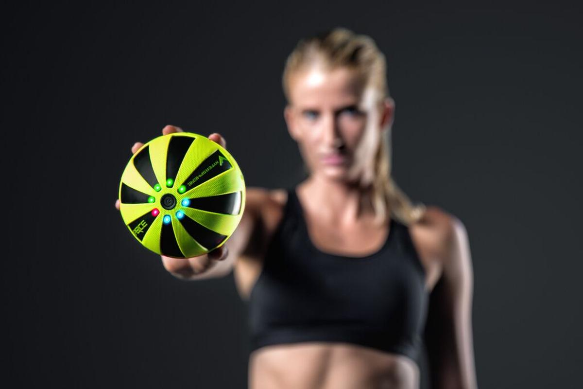 The Hypersphere uses high-frequency vibrations to keep muscles happy
