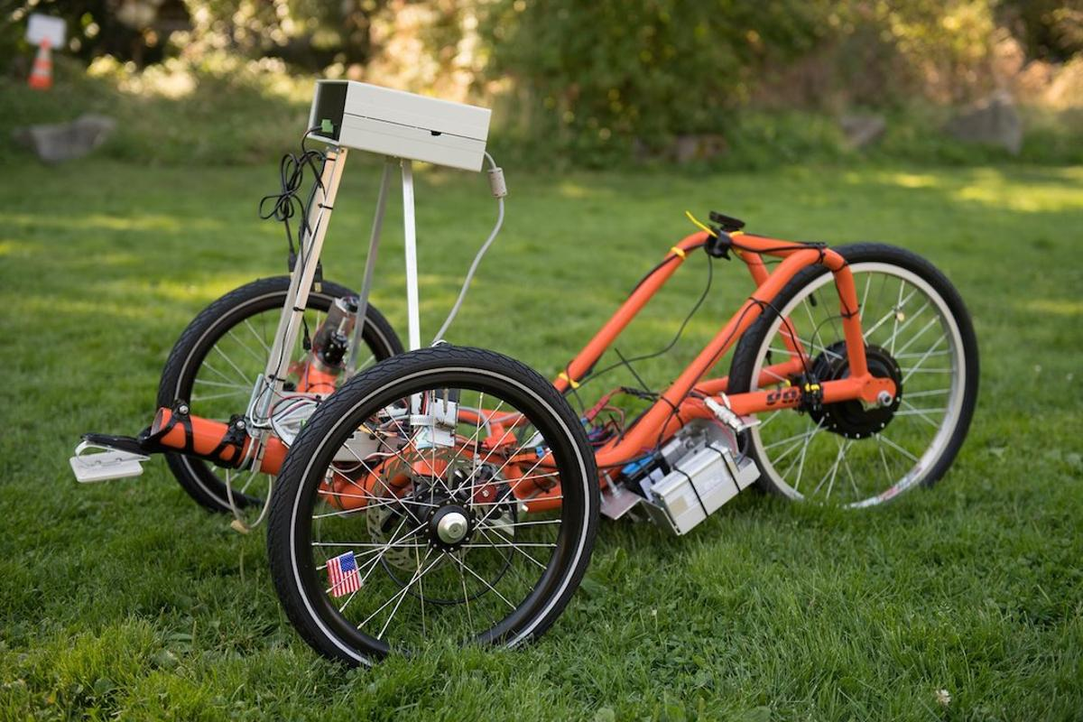 UWB engineers have developed a self-driving trike, that they hope will eventually lead to more affordable autonomous vehicles