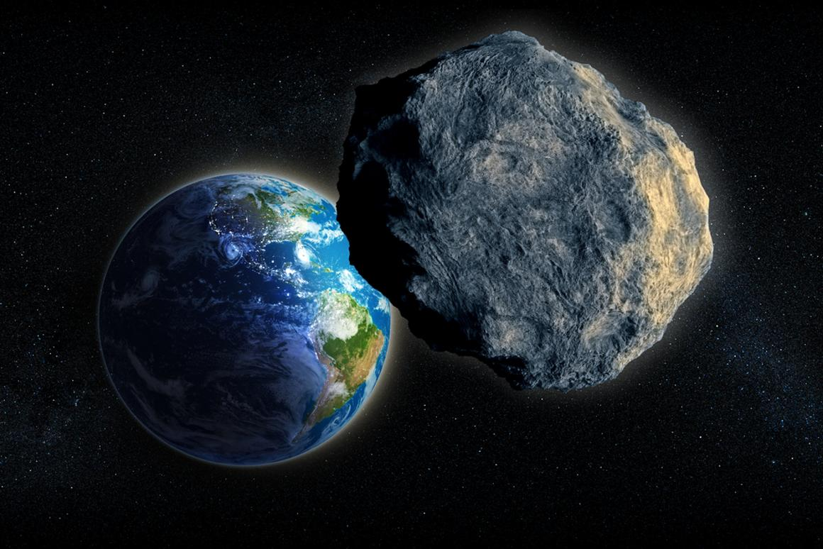 Is a sun-powered space laser the answer to stopping major asteroid impacts? (Photo: Shutterstock)