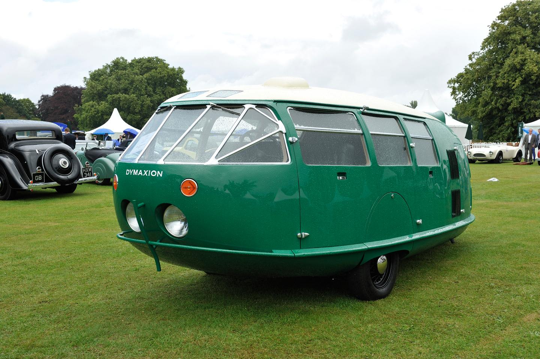 The Dymaxion car was a three wheeler concept car designed by Fuller in 1933.