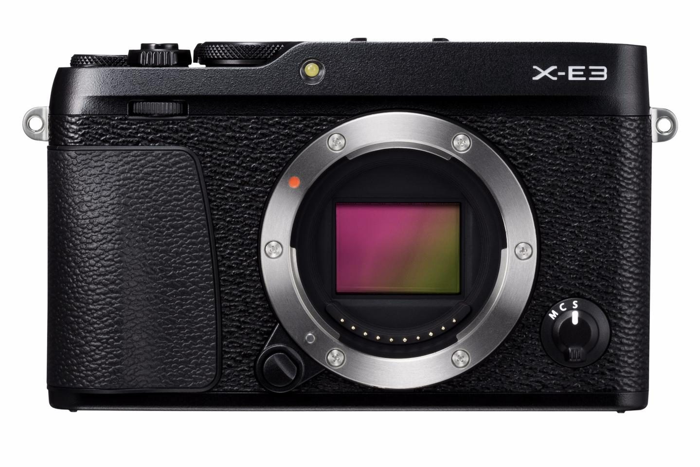 The Fujifilm X-E3 features a 24.3 MP X-Trans CMOS III (23.5 x 15.6 mm) image sensor and X-Processor Pro engine combination