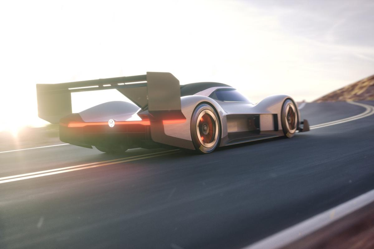 And Volkswagen's newly named I.D. R Pikes Peak is built specifically to finish the famous race in record time