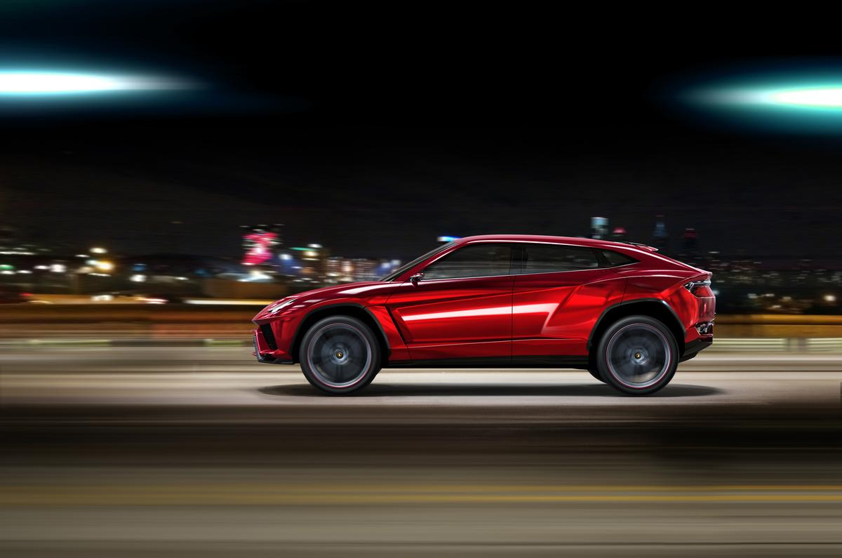 The Urus concept SUV signals a third product line for Lamborghini
