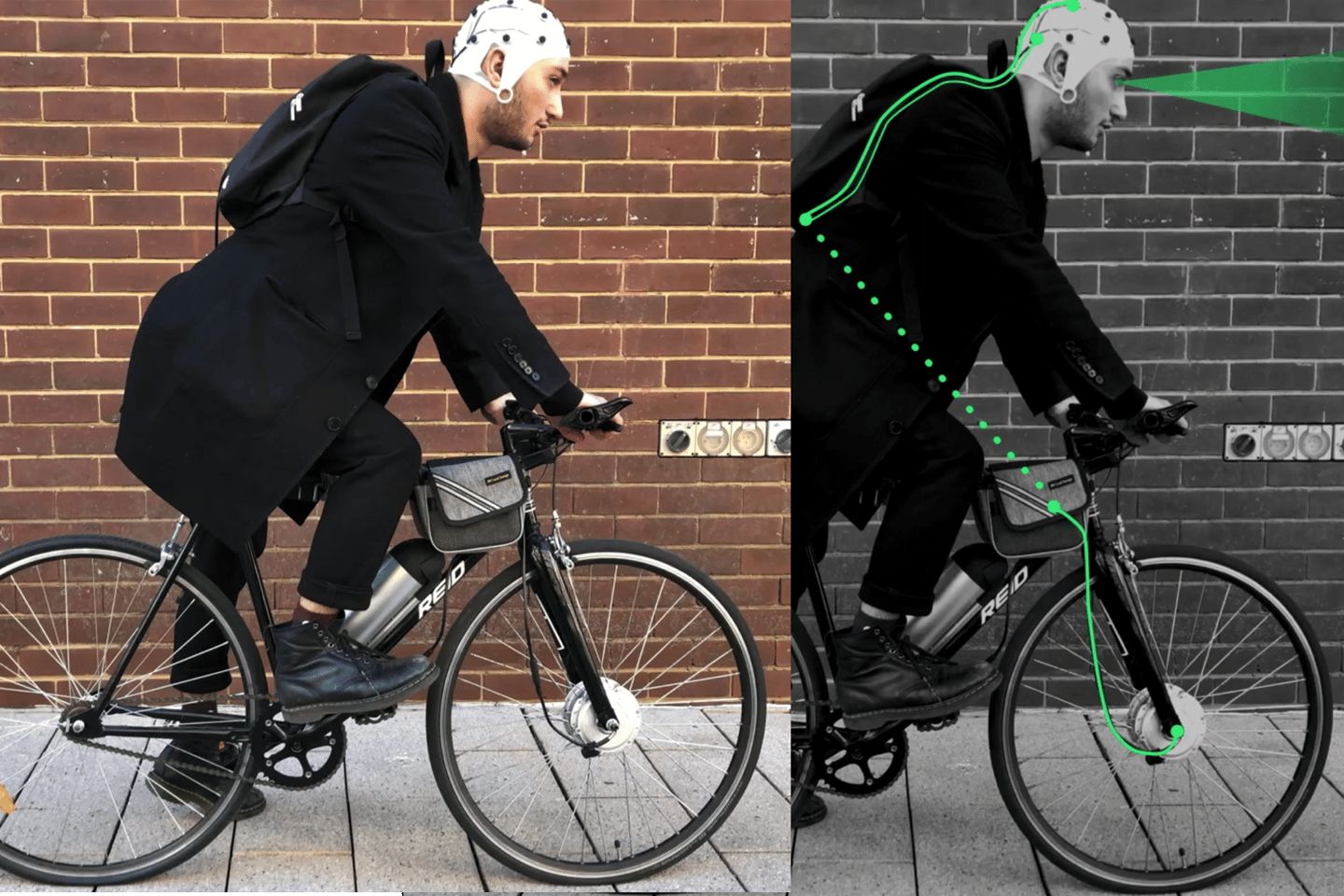 The Ena ebike reads your brain activity and hijacks your threat response system in the name of safety