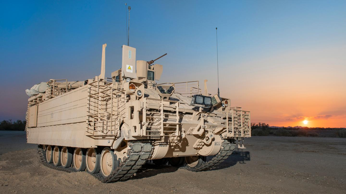 The AMPV comes in five variants