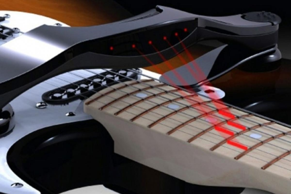 "The ""Maestro"" guitar learning aid concept design"
