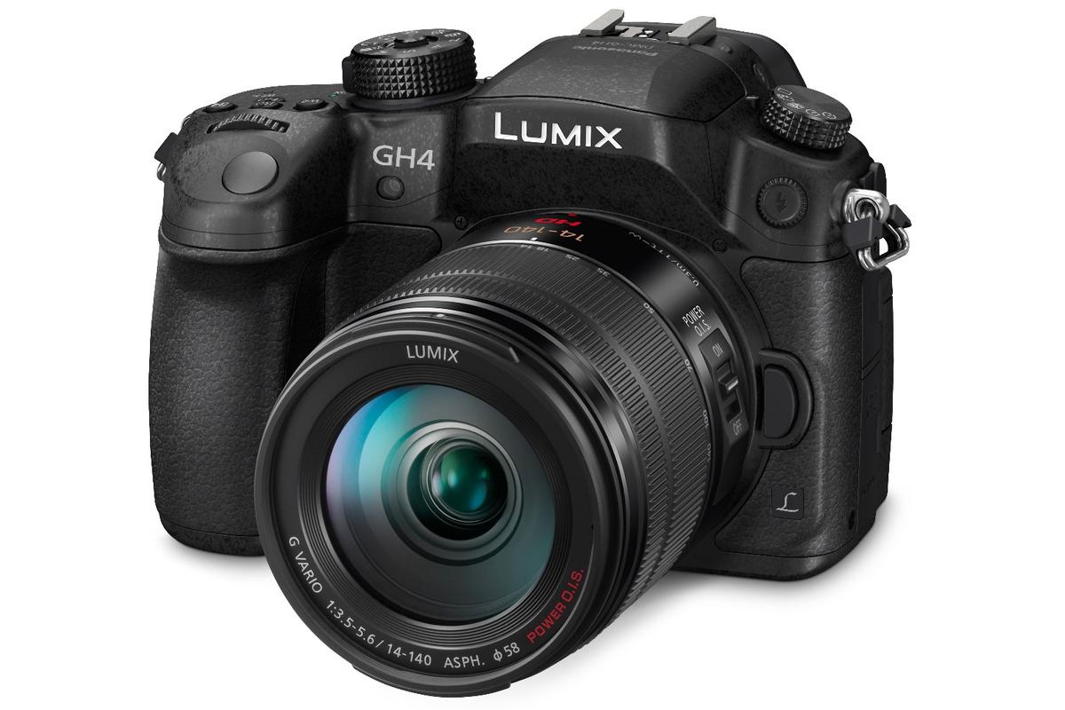 The Panasonic Lumix DMC-GH4R boasts unlimited 4K recording and V-Log L video capability