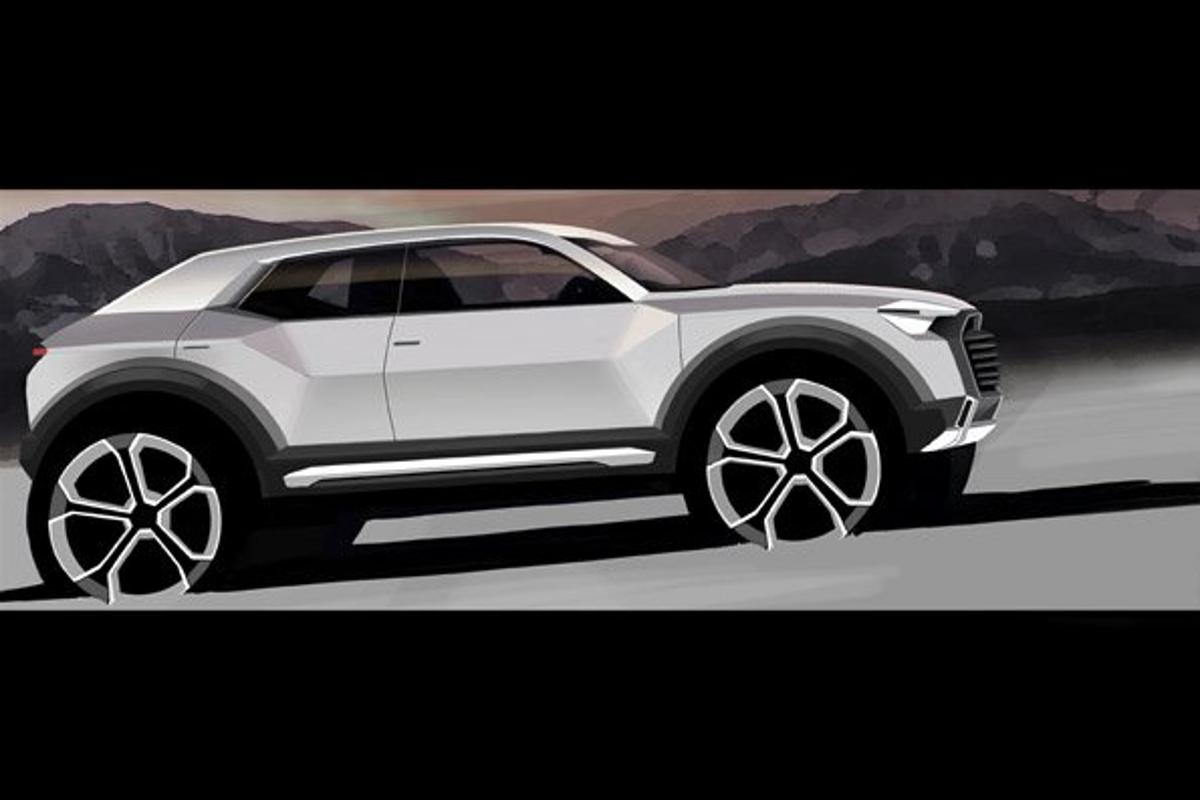 The Q1 will join Audi'd Q series from 2016
