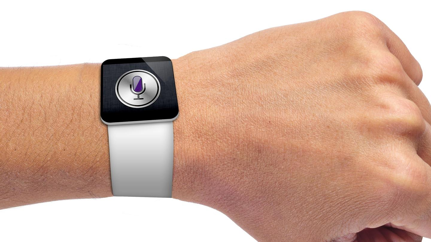 Don't hold your breath for the rumored Apple iWatch, as it may not release until late 2014. (wrist image: Shutterstock)