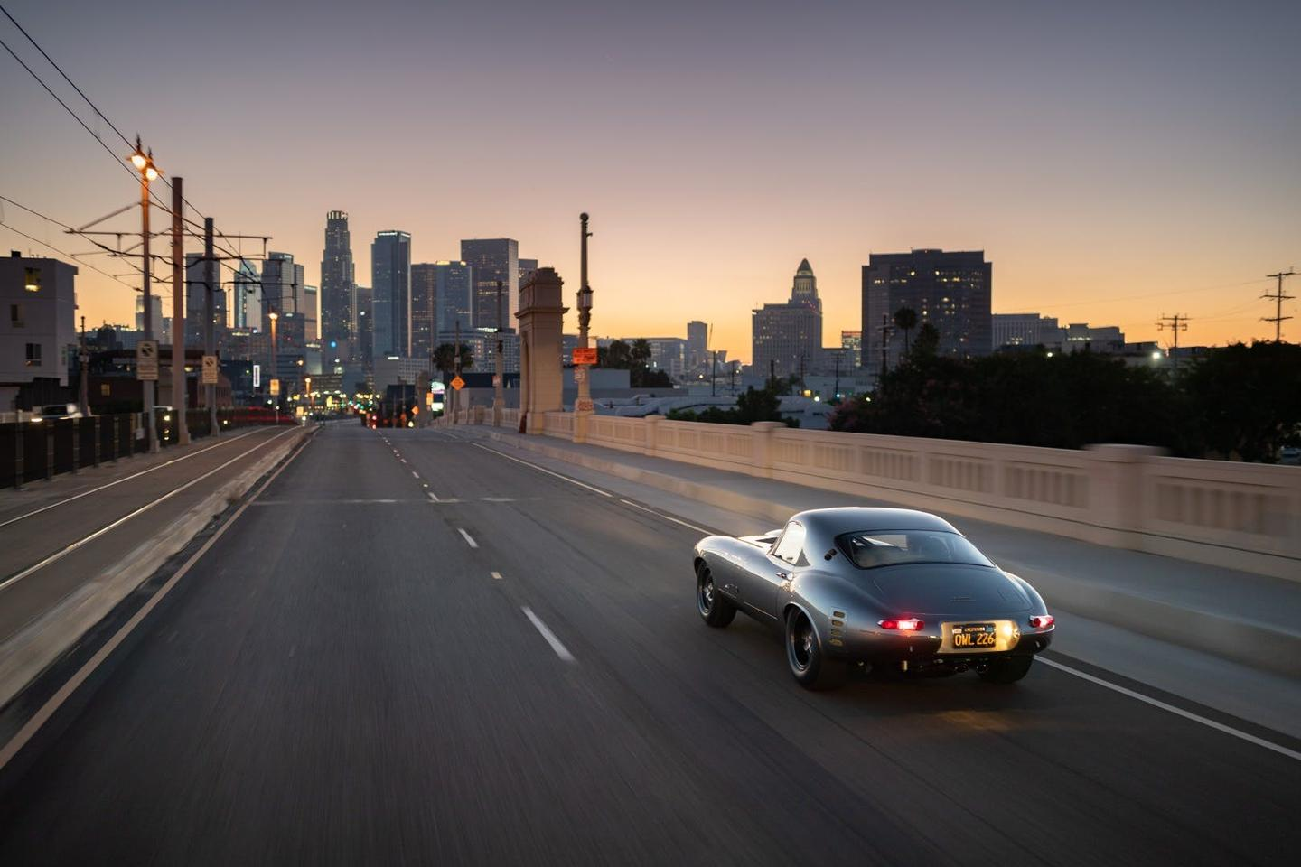 The Jaguar E-Type Low Drag Coupe debuted in California and will soon begin showing at selected locations globally