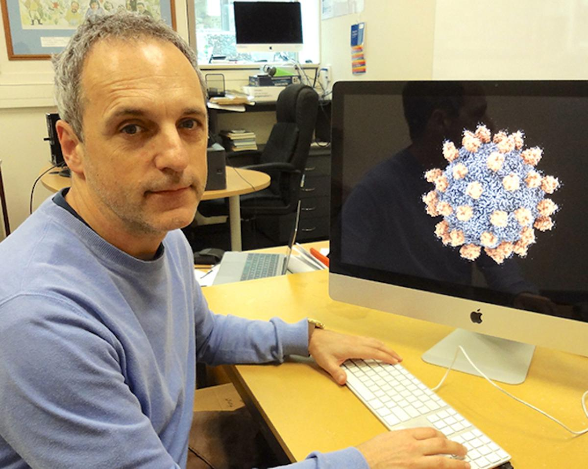 Professor Mihnea Bostina from the University of Otago was part of a research team imaging the Seneca Valley Virus