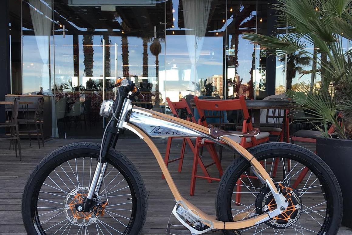 The retro-chic Rocsie motorbike
