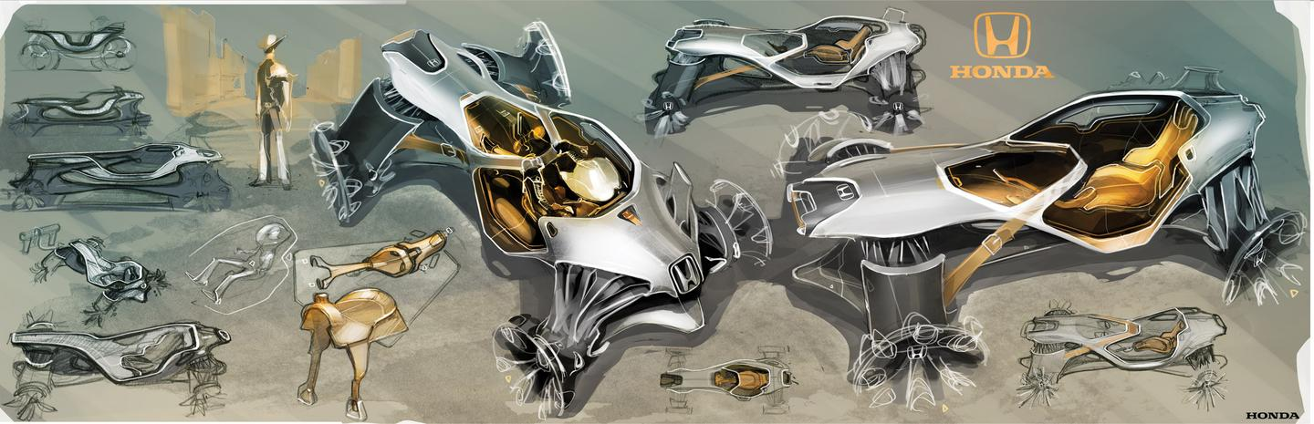 Honda's Intelligent Horse - biomimicry gives us the All