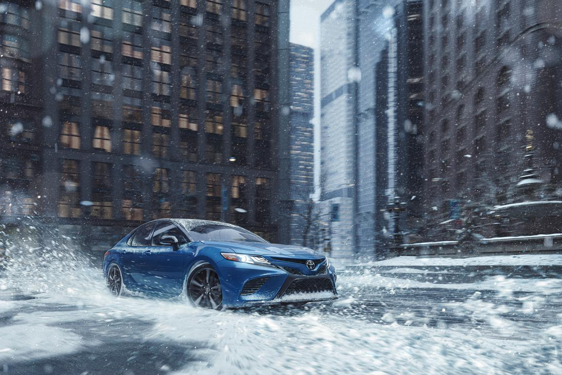 The all-wheel drive option will be available as a stand-alone upgrade on most model trims of the Camry and Avalon