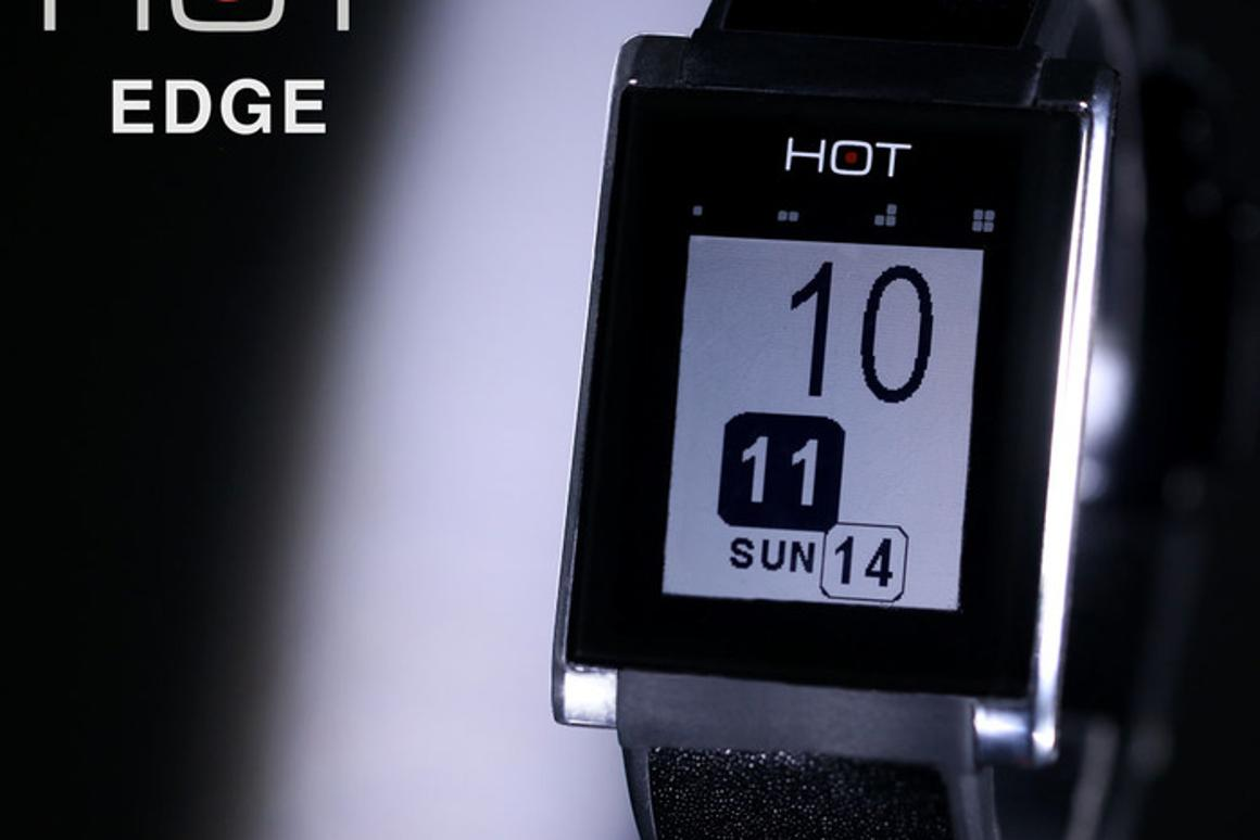 Talk to the hand: HOT Watch turns your palm into a mobile phone