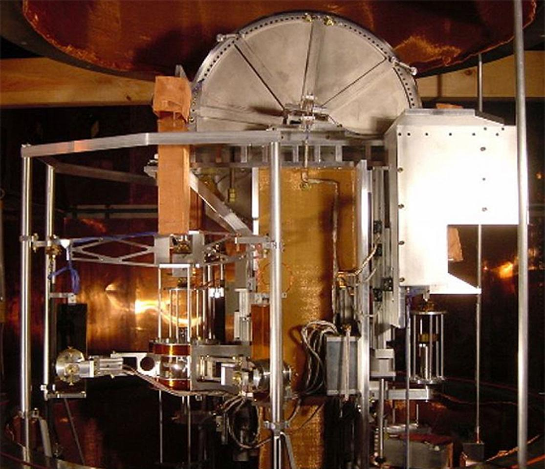 A watt balance, which could be used to redefine the weight of a kilogram (Photo: Steiner/NIST)