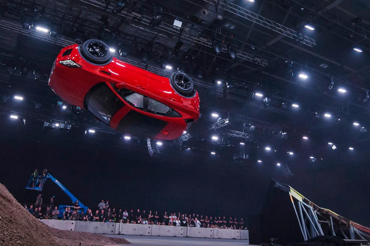 Jaguar has gone big for the launch of the new E-Pace