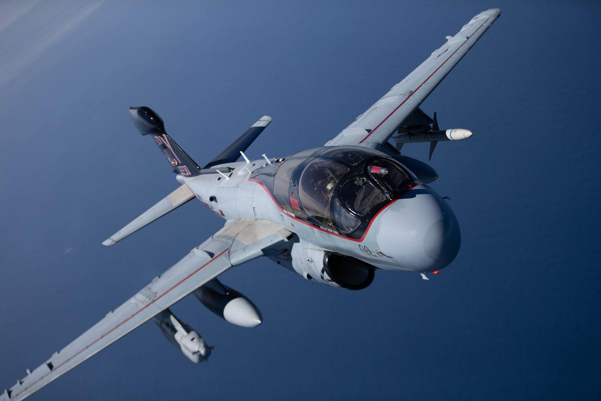 The EA-6B Prowler was in service for 42 years