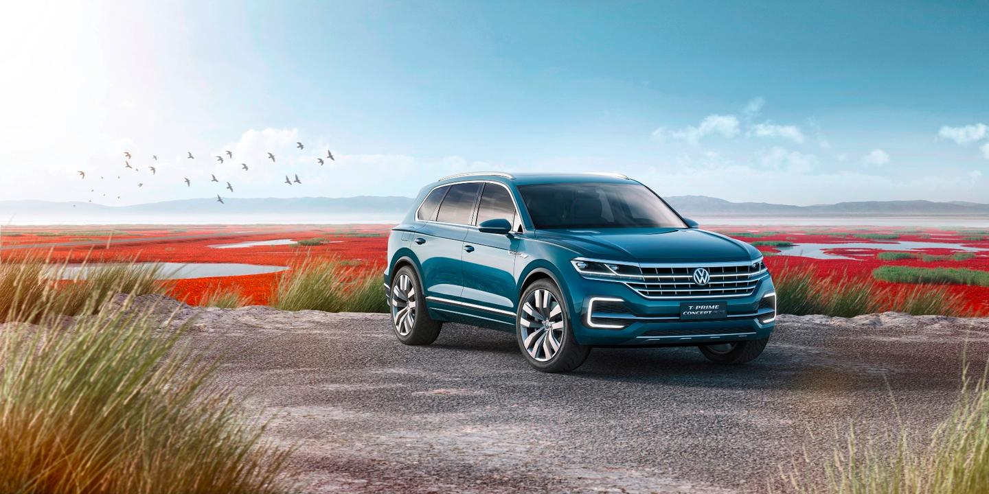 Volkswagen has revealed the T-Prime Concept GTE at the 2016 Beijing Auto Show