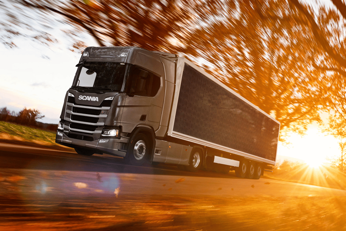 Scania explores a sunnier future for trucking