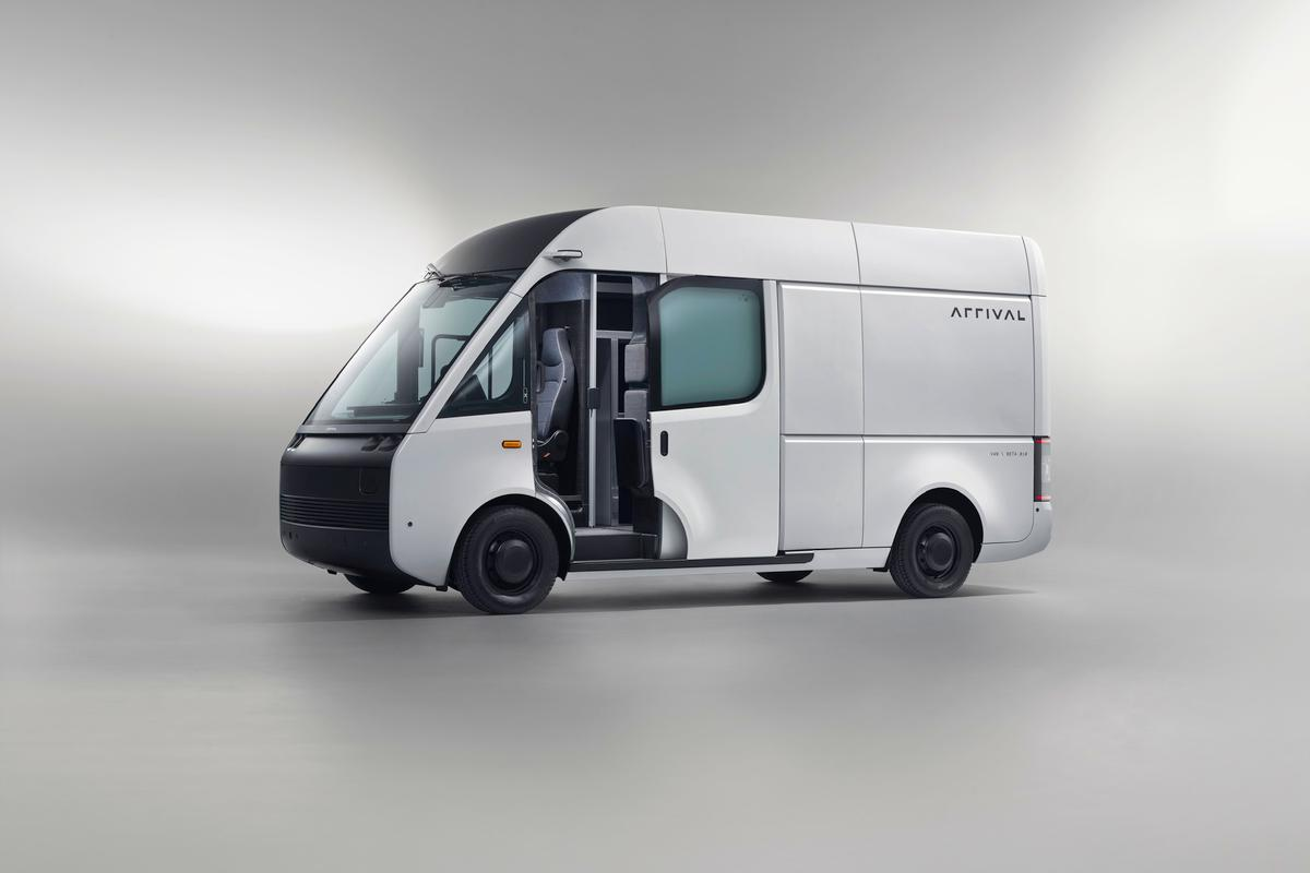 Arrival's all-electric Van will be produced in lengths ranging from 16.7 ft to 21.3 ft