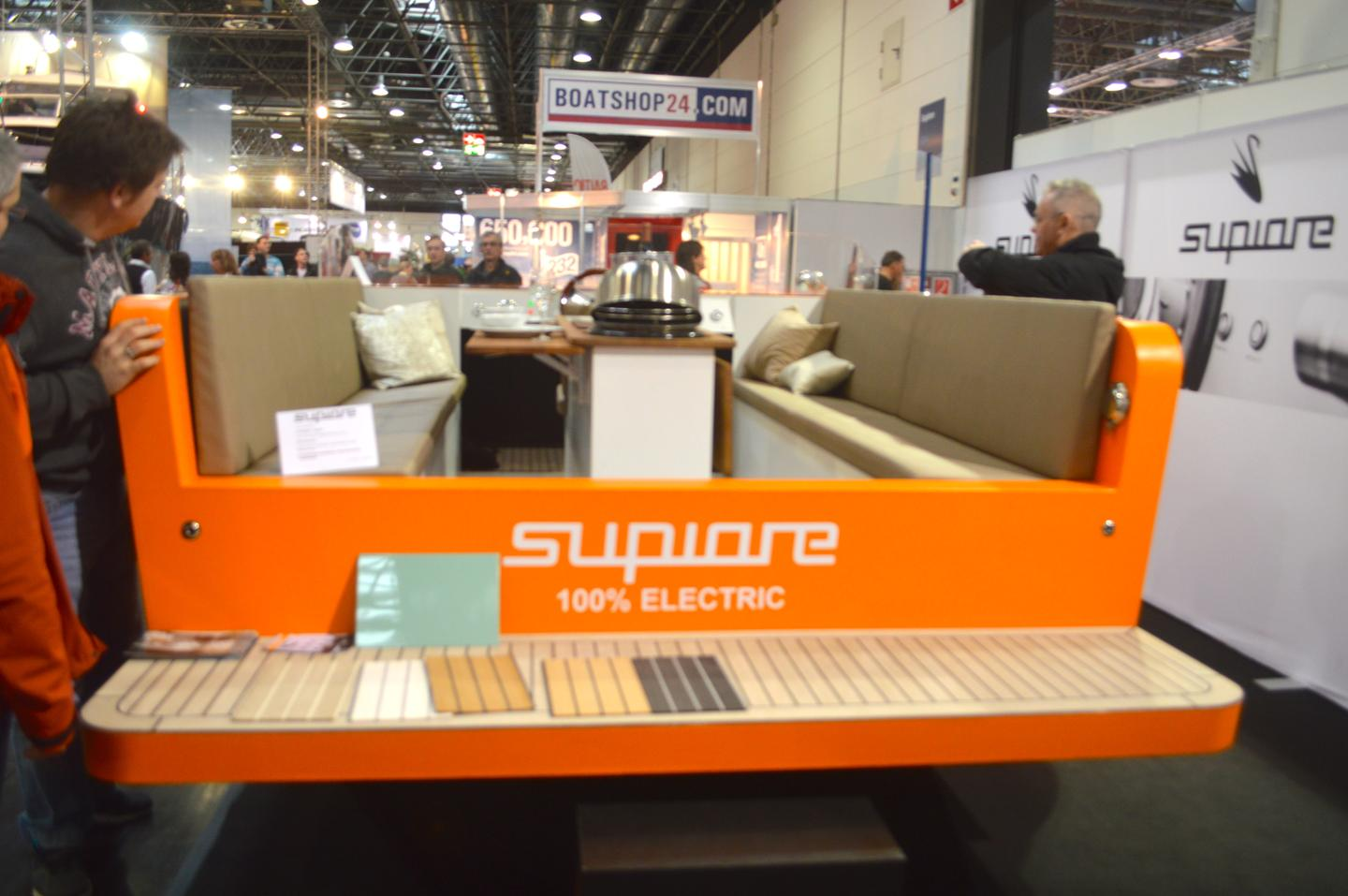 Supiore's Facebook page indicates that it added the rear deck for last week's Dusseldorf showing