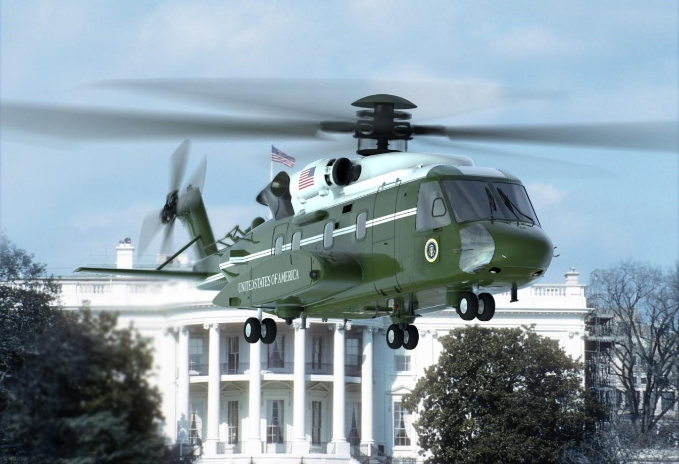 Artist's rendering of the VH-92A