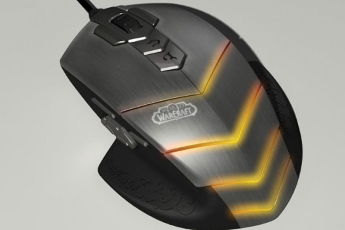 The SteelSeries World of Warcraft MMO Gaming Mouse