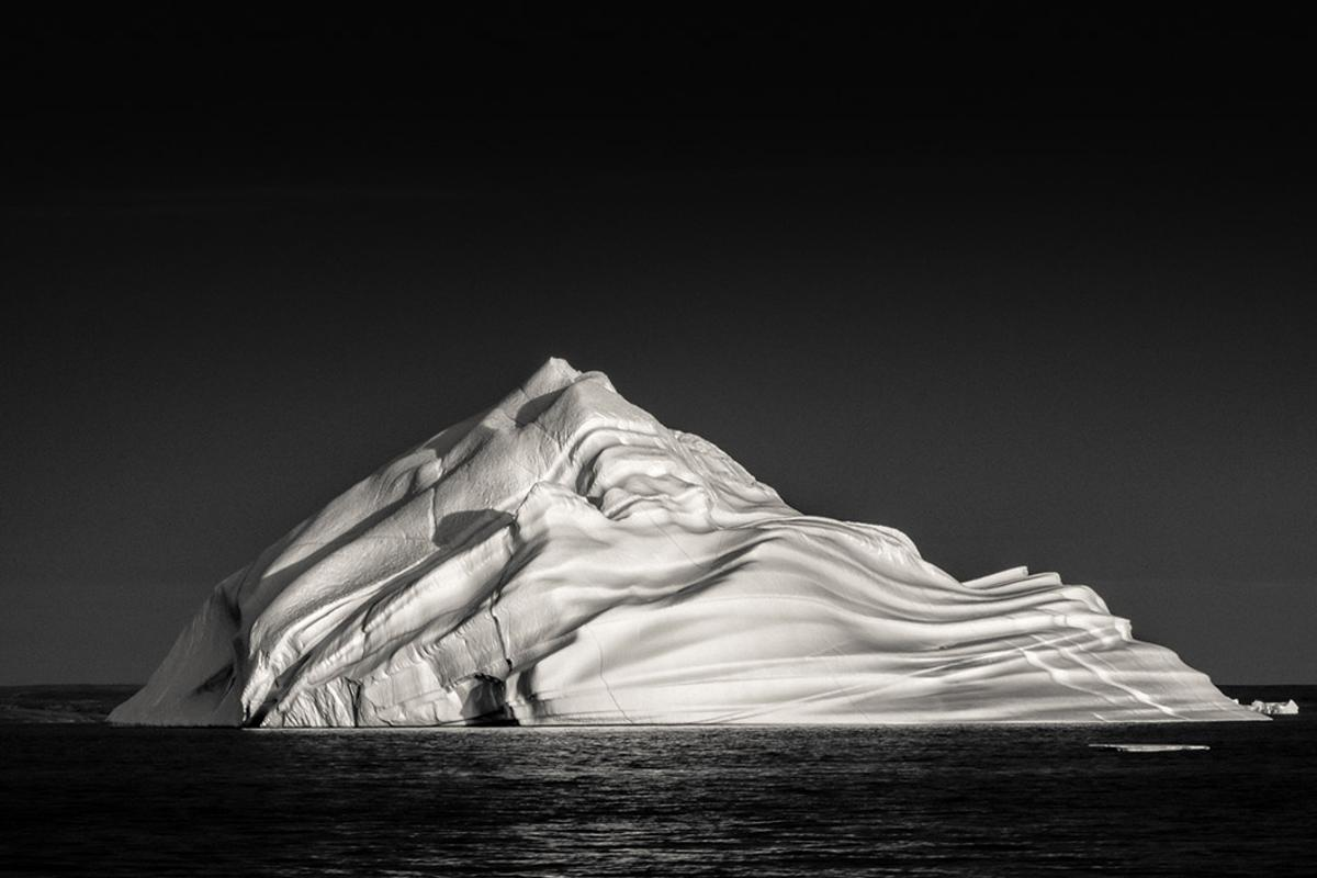 Honorable Mention, Landscape. Whipped Cream Iceberg. Taken off the coast of Greenland