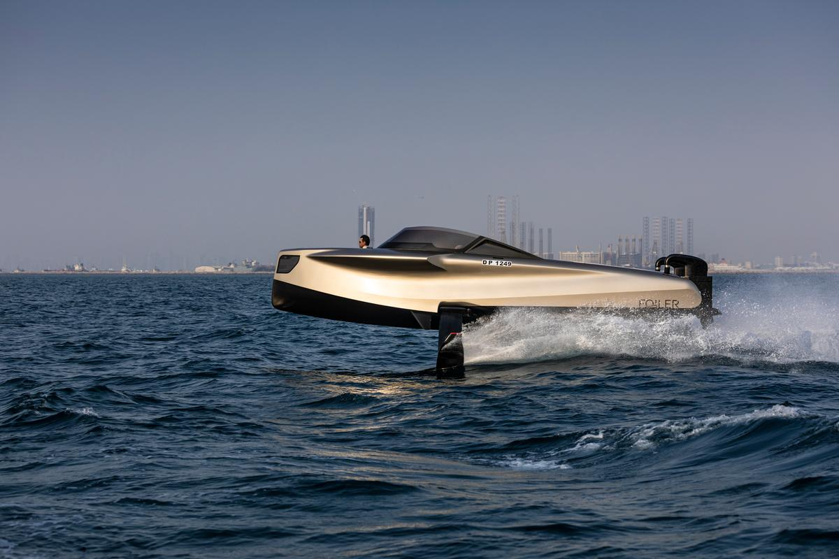 Enata S 2020 Carbon Fiber Foiler Hydrofoil Power Boat