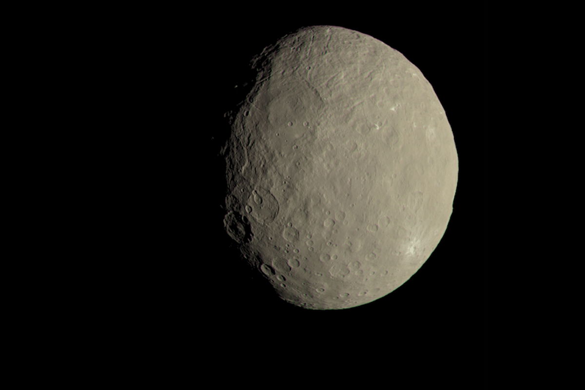 The Dawn mission has detected organic molecules on the dwarf planet, Ceres