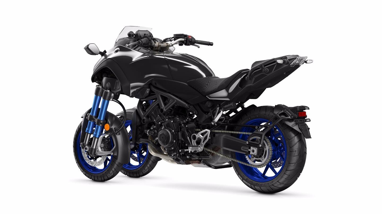 2018 Yamaha Niken: built on the MT09 platform
