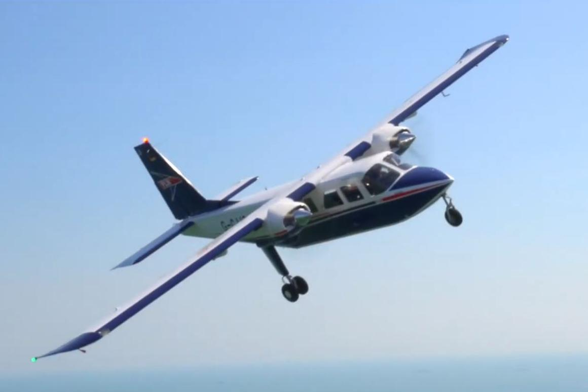 The hybrid-electric propulsion system will be installed in a Britten-Norman Islander aircraft