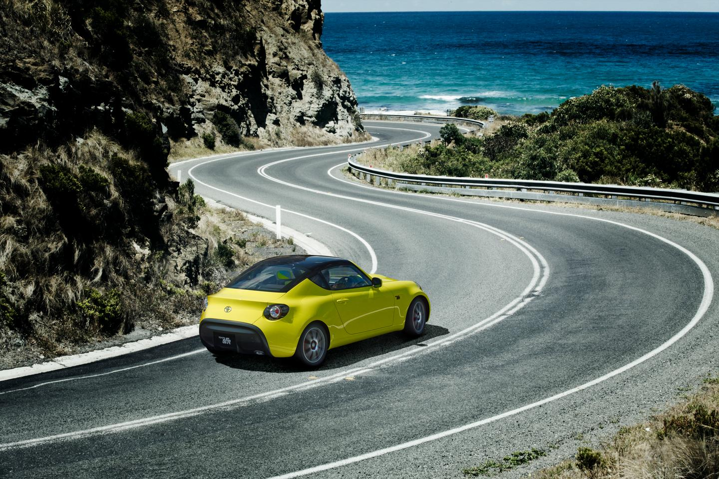 The S-FR features light, compact design, independent suspension and a manual transmission
