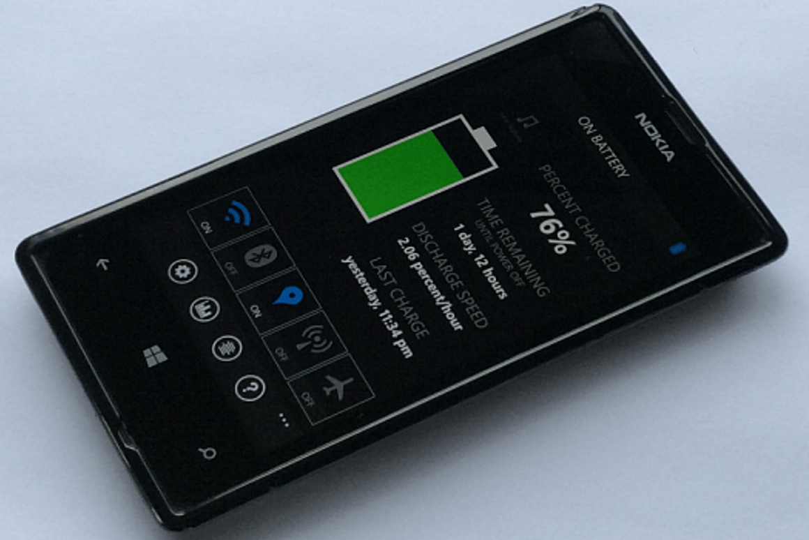 Here are some tips on getting the most battery life from your Windows Phone 8.1